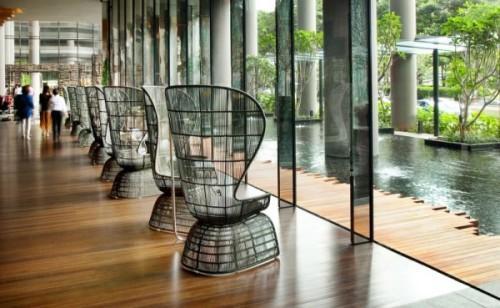 Парк-отель PARKROYAL Hotel в Сингапуре. Фото 10