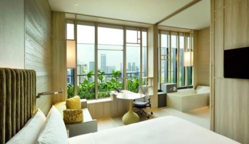 Парк-отель PARKROYAL Hotel в Сингапуре. Фото 12