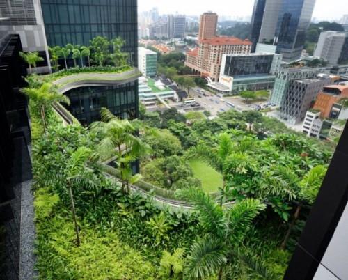 Парк-отель PARKROYAL Hotel в Сингапуре. Фото 14