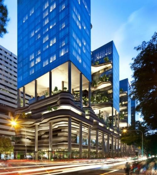 Парк-отель PARKROYAL Hotel в Сингапуре. Фото 2