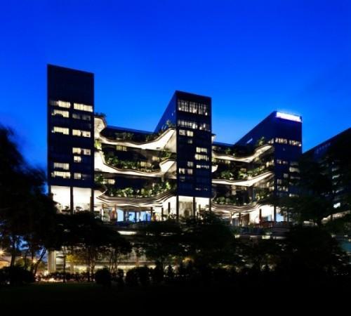 Парк-отель PARKROYAL Hotel в Сингапуре. Фото 3