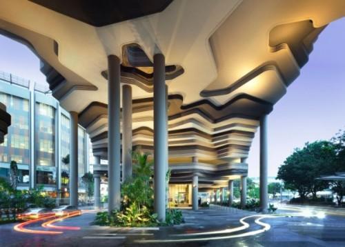 Парк-отель PARKROYAL Hotel в Сингапуре. Фото 4
