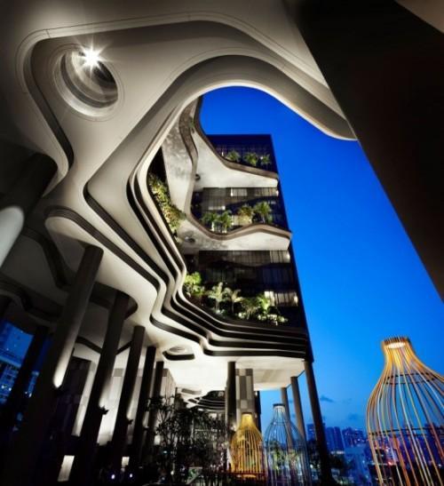 Парк-отель PARKROYAL Hotel в Сингапуре. Фото 5