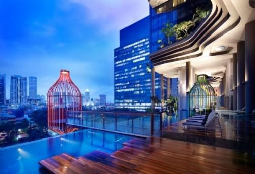 Парк-отель PARKROYAL Hotel в Сингапуре. Фото 6