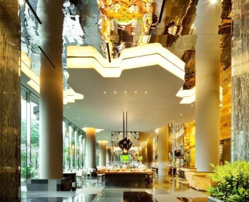 Парк-отель PARKROYAL Hotel в Сингапуре. Фото 7