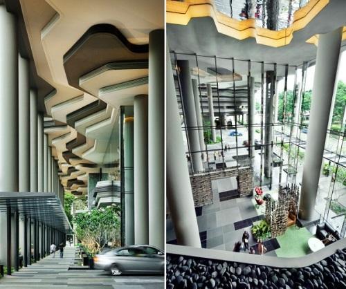 Парк-отель PARKROYAL Hotel в Сингапуре. Фото 8