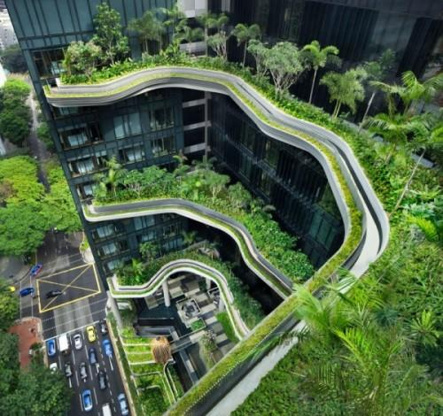 Парк-отель PARKROYAL Hotel в Сингапуре