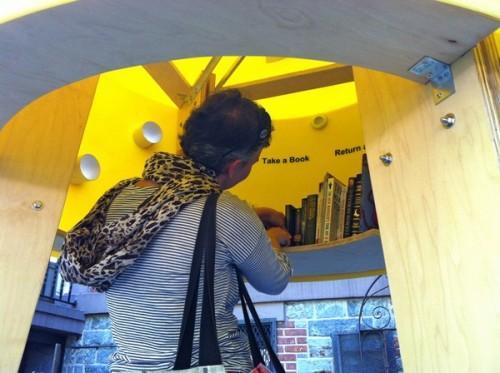 Переносная библиотека Stereotank в Нью-Йорке. Фото 3