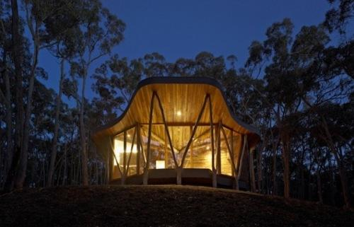 Потрясающий современный дом Trunk House. Фото 3