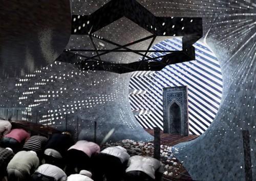 Проект мечети на солнечных батареях в Приштине. Фото 5
