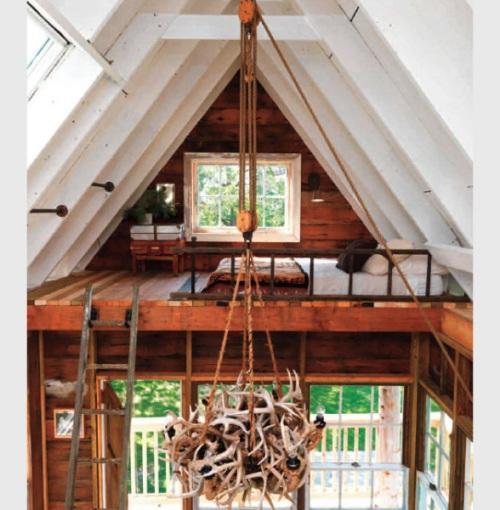 Уникальный коттедж Tom's Treehouse - дом вокруг дерева. Фото 5