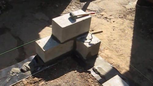 Строительство гаража из шлакоблоков. Этапы строительства