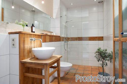 Оформление ванной в скандинавском стиле
