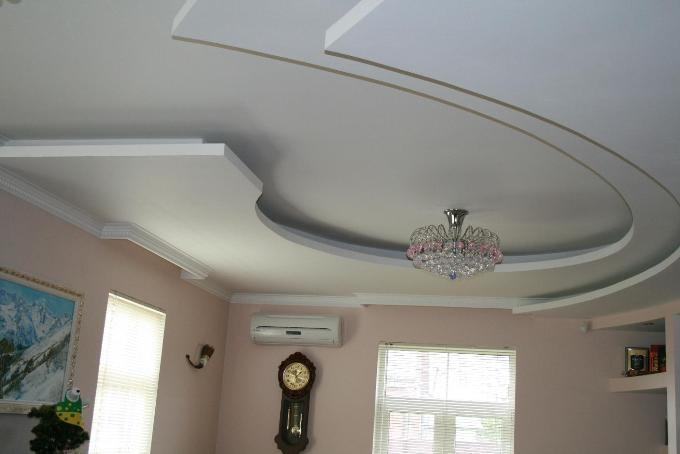 Как сделать потолки из гипсокартона? Фото потолков и видео инструкции по монтажу