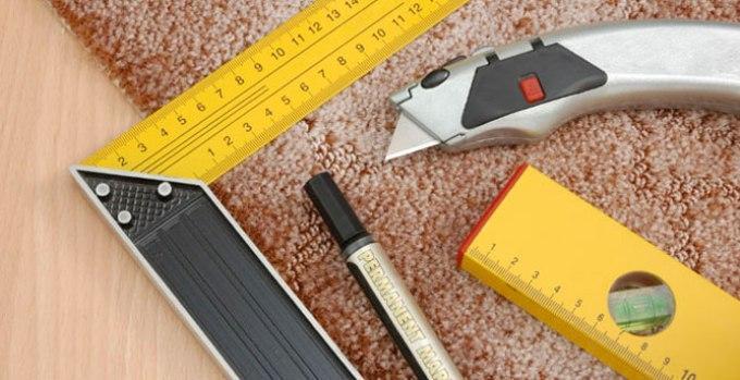 Инструменты, необходимые для укладки