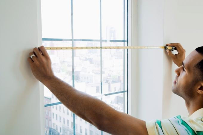 Как сделать замер пластиковых окон? Меряем обычные окна и окна в пол