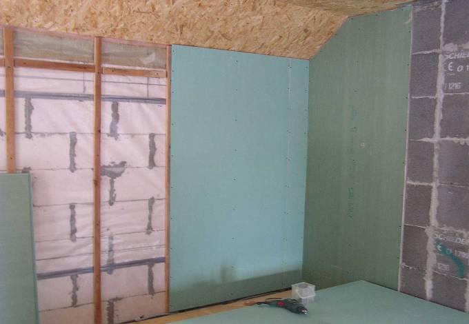 Внутренняя отделка стен из пеноблока