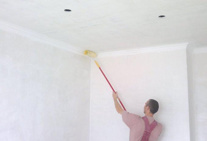 Использование пылесоса для покраски потолка бутилкаучуковая мастика нмг-с