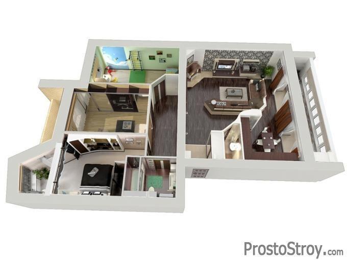 Проектируем квартиру в 3D