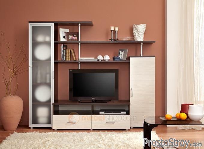 Небольшая стенка под телевизор