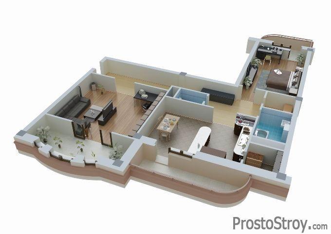 Программы для планировки квартиры 3d