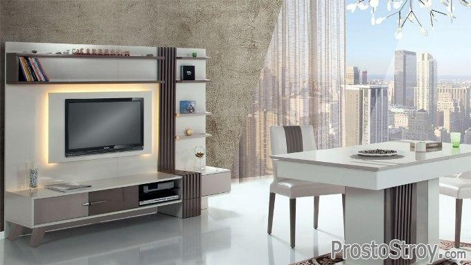 Фото стенки под телевизор