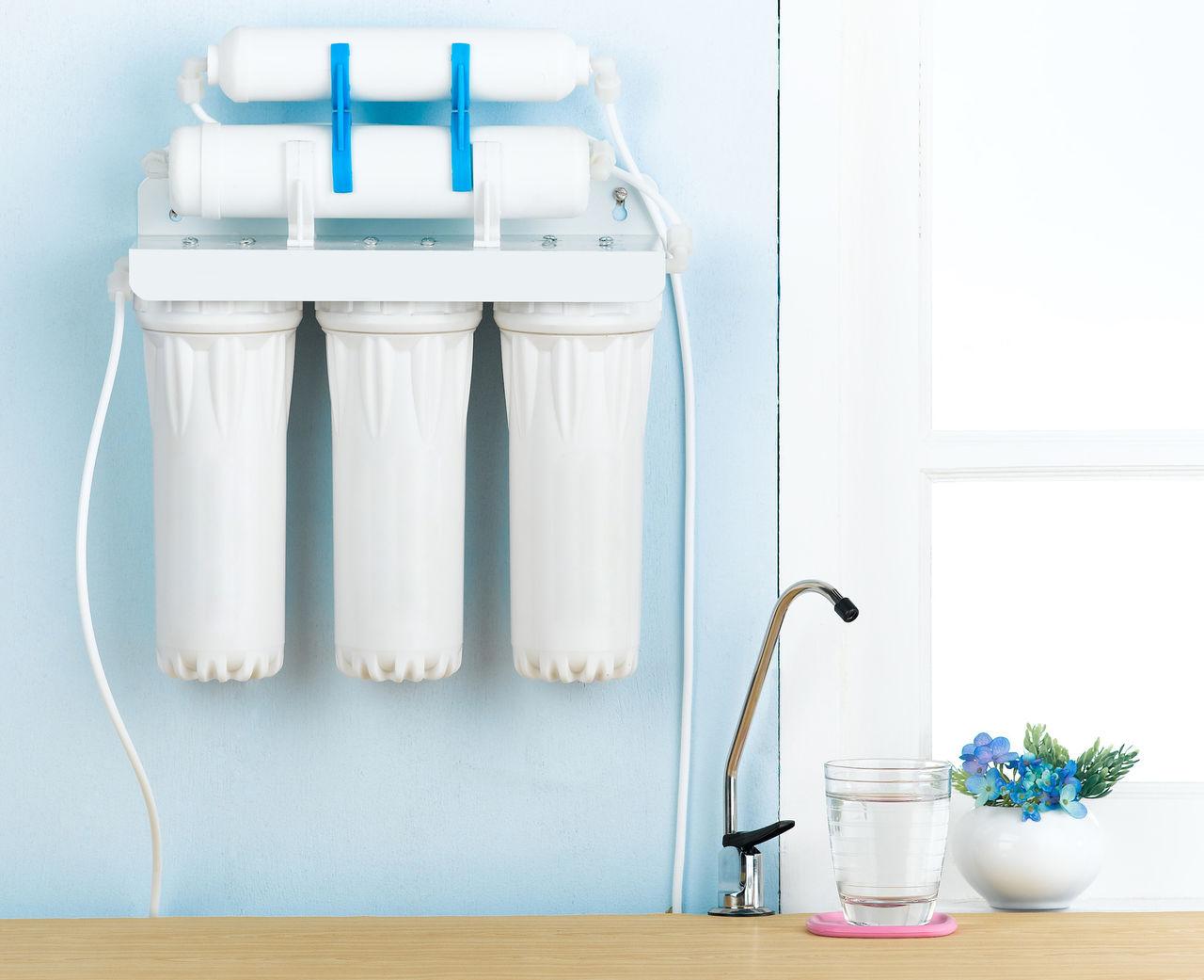 Шесть типов фильтров для воды