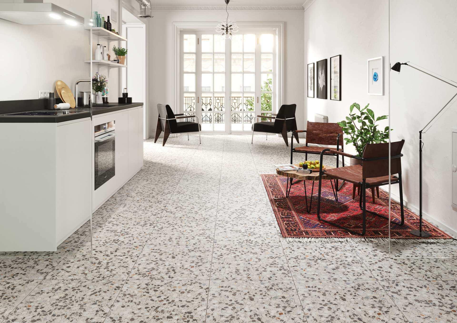 Как выбрать керамическую плитку на кухню для разных поверхностей