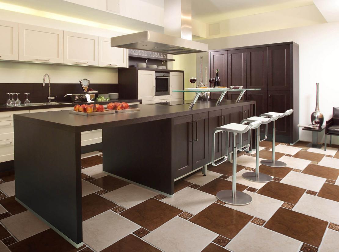 Правильный выбор напольного покрытия для кухни