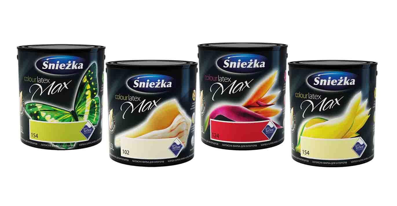Преимущества латексных красок Sniezka
