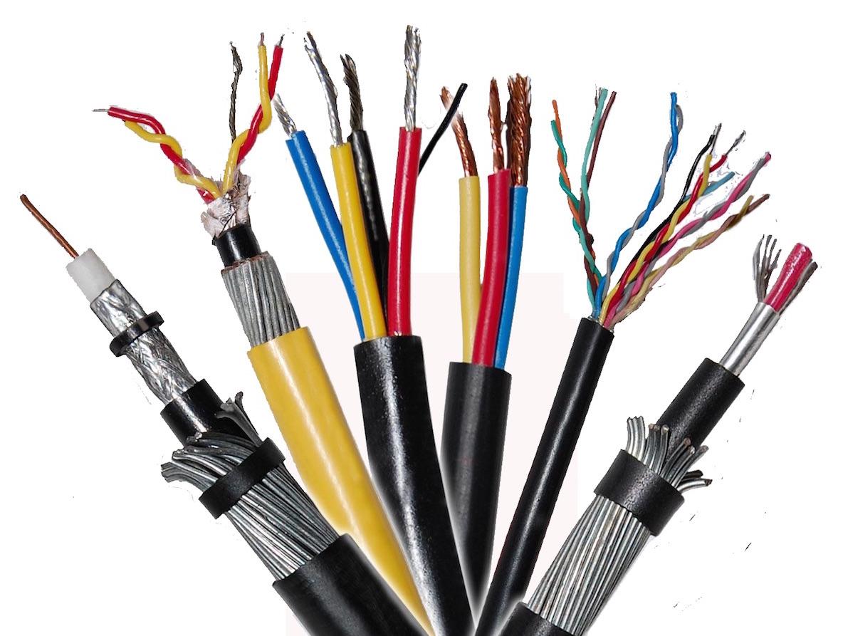 Разновидности кабелей и проводов