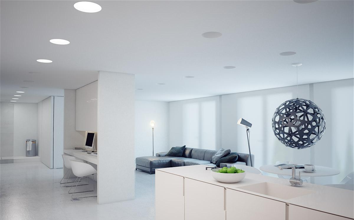Особенности и преимущества точечных светильников