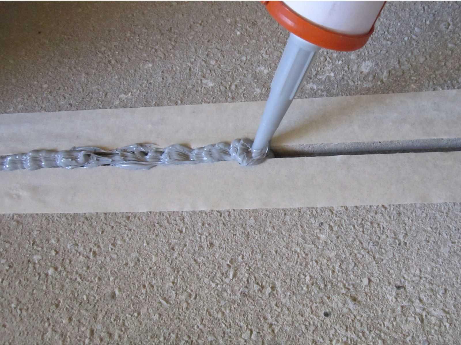 Герметики для бетона: основные виды и характеристики