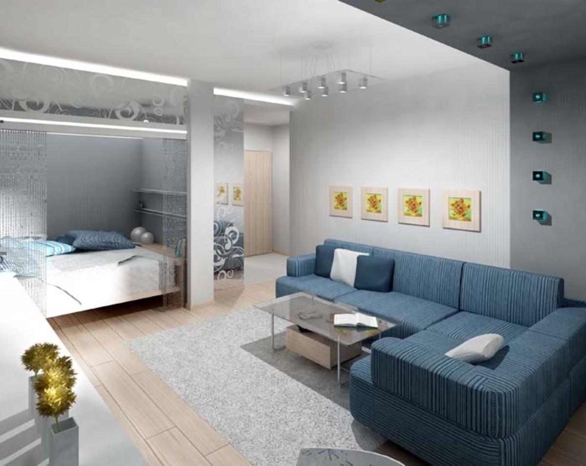 Как лучше организовать ремонт в однокомнатной квартире