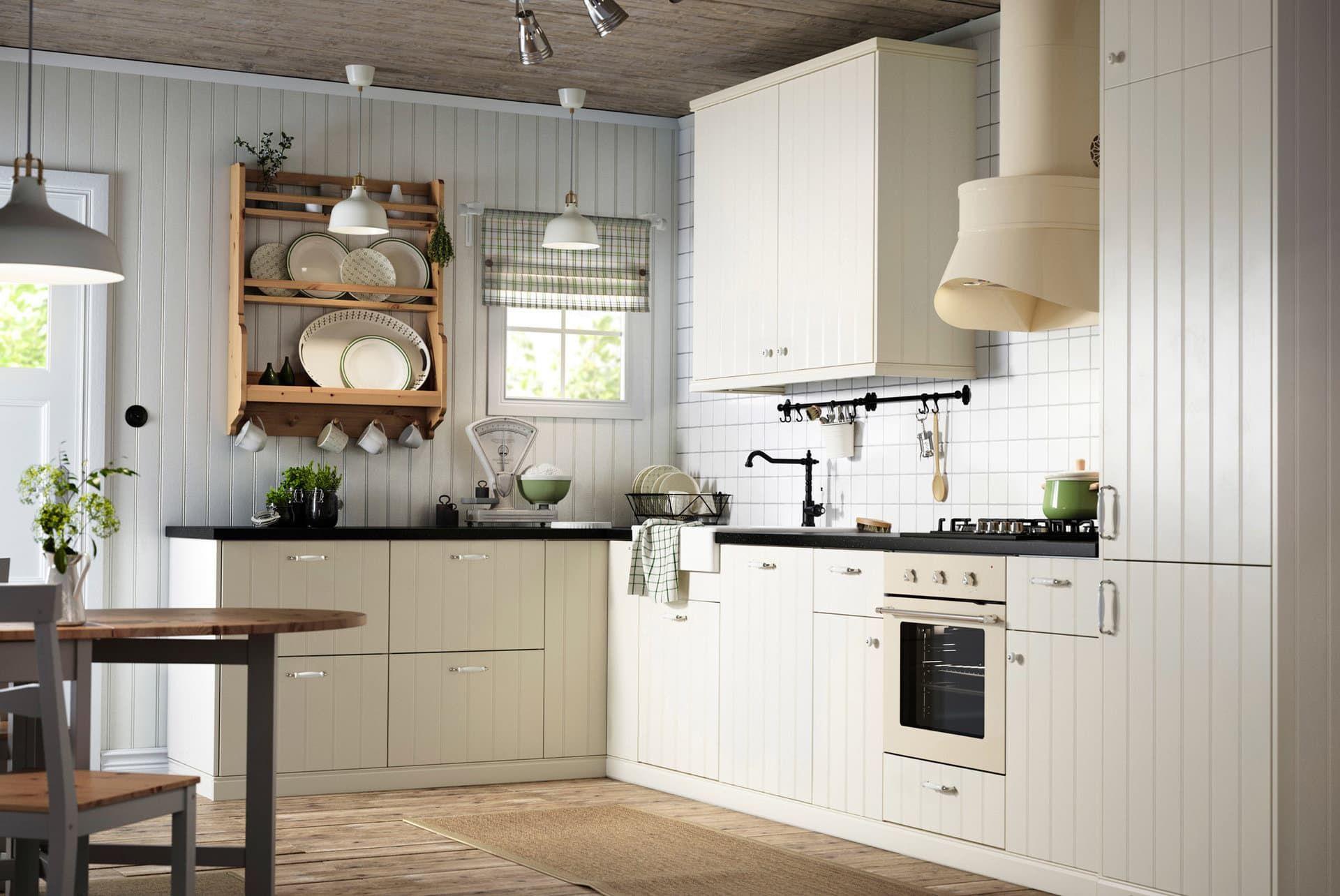 Простая геометрия: планировка угловой кухни
