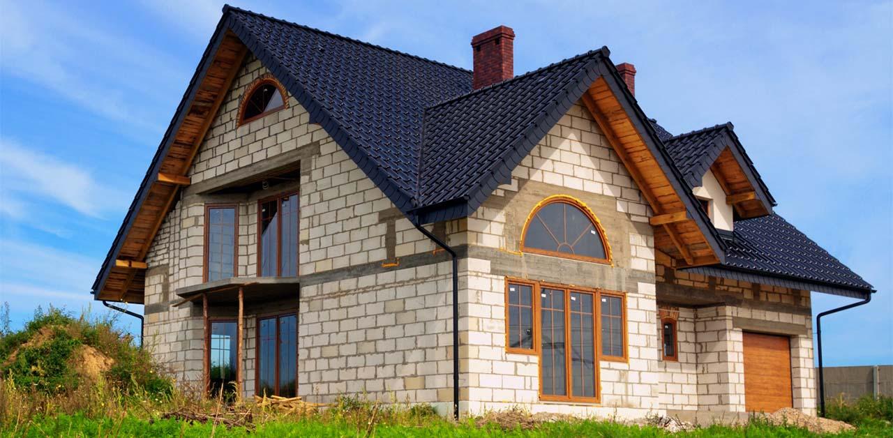 Достоинства пеноблоков в загородном строительстве