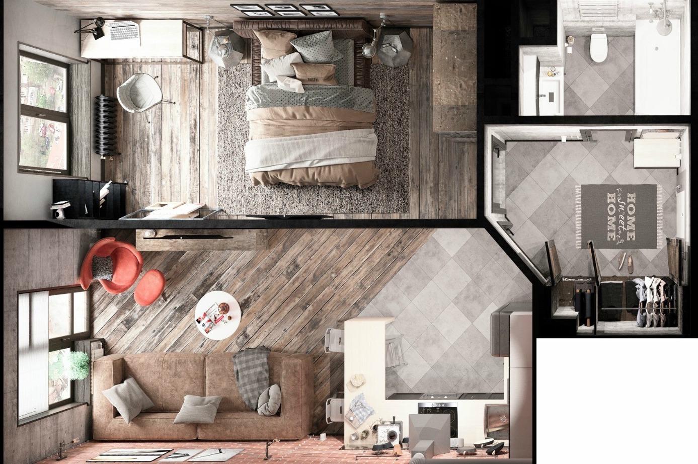 Как сделать дизайн-проект комнаты своими руками?