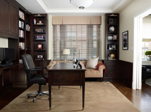 Кабинет для домашнего офиса