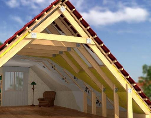 Утепление скатной крыши: 2 метода