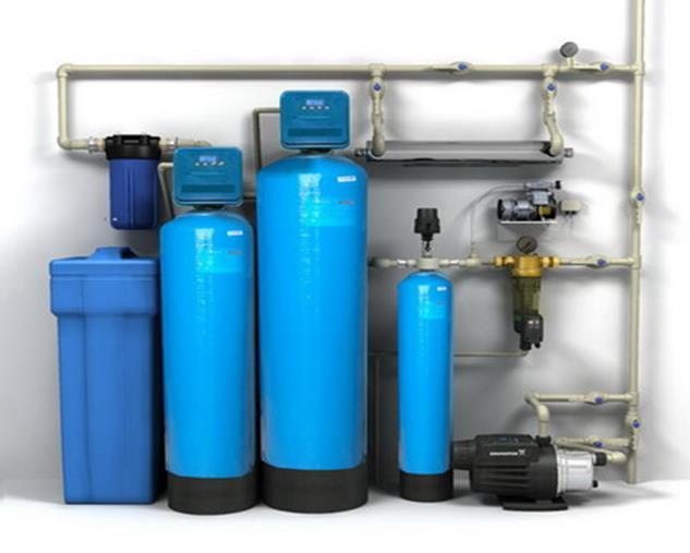 Система напорной аэрации воды