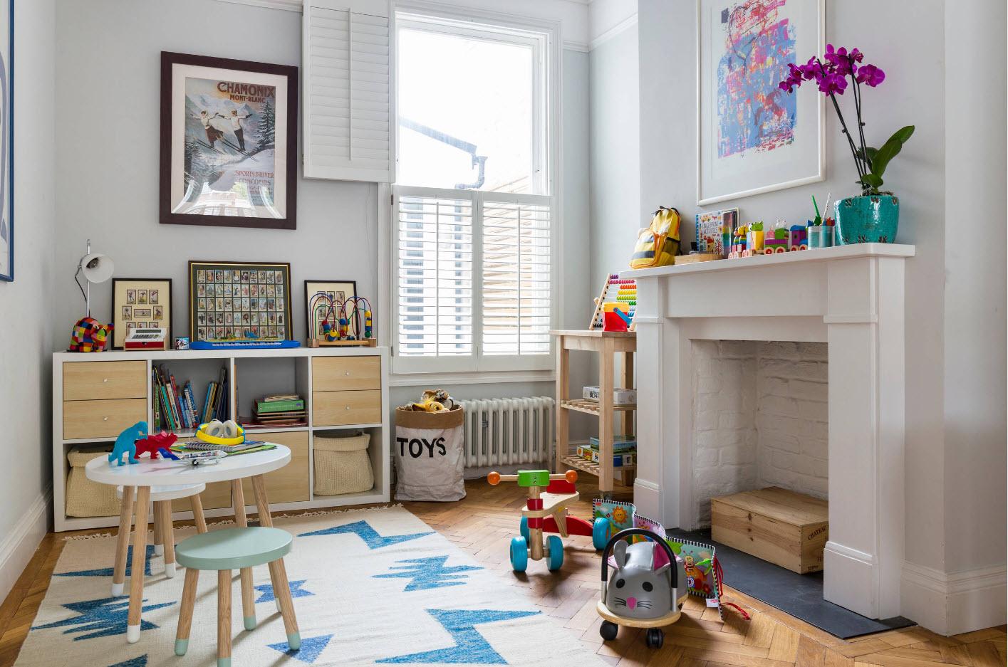 Как обустроить детскую комнату