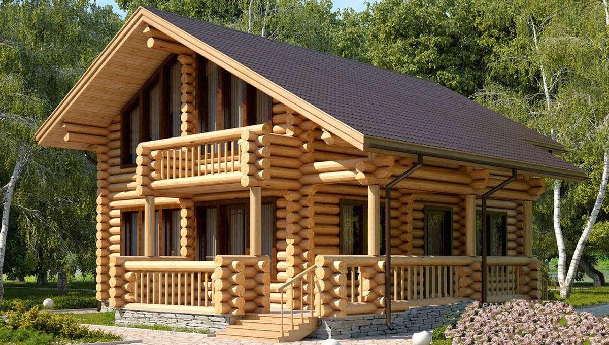 Особенности строительства домов из брёвен