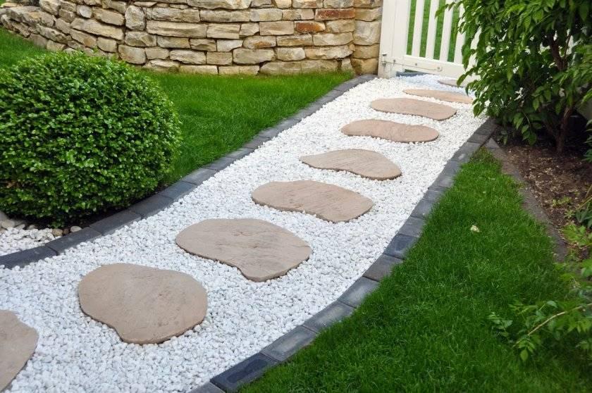 Применение мрамора и гранита в ландшафтном дизайне