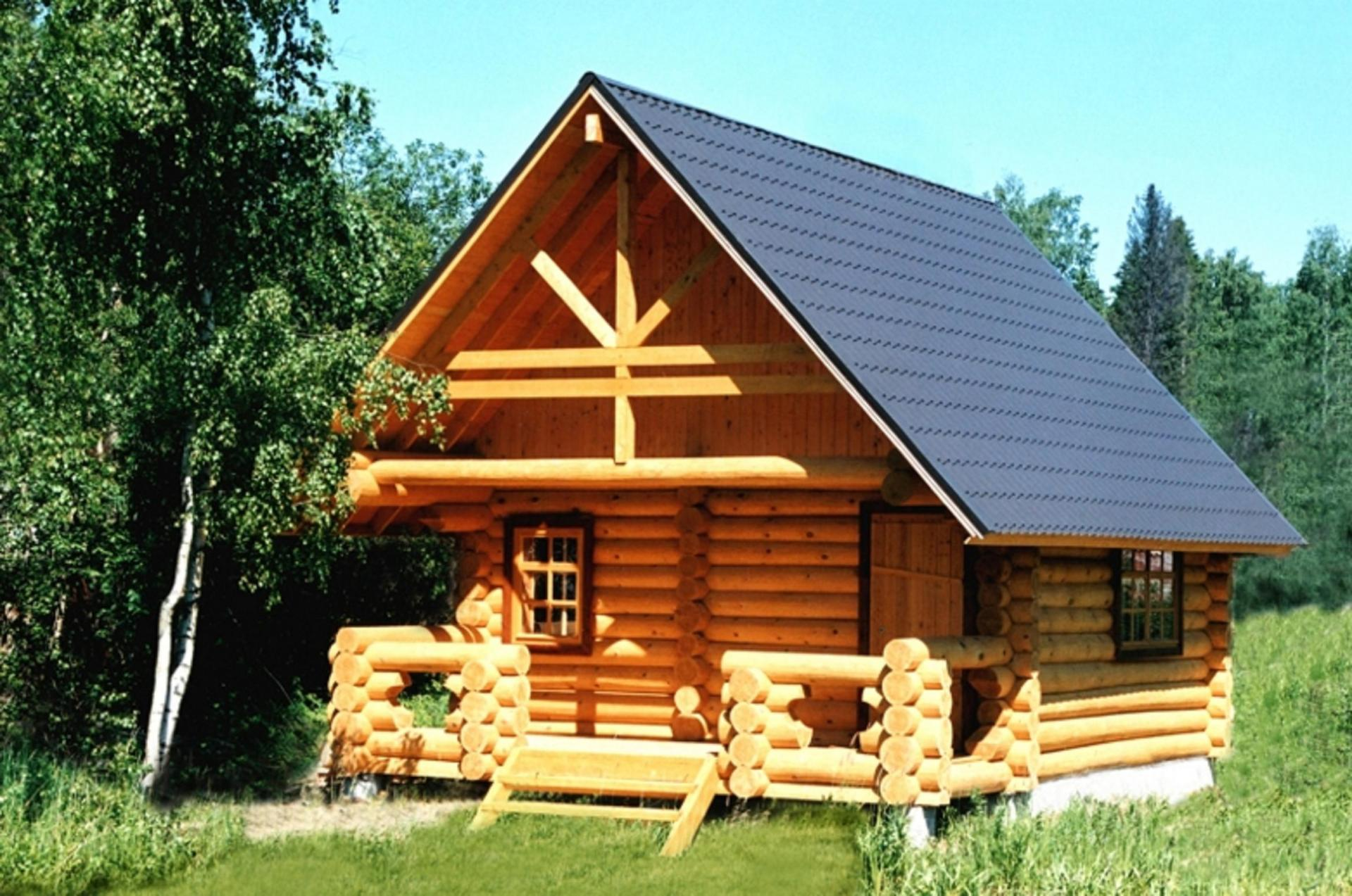 Конструкция крыши бани