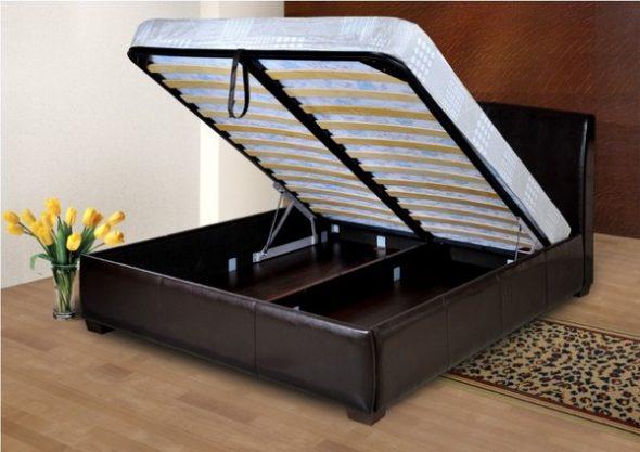 Как выбрать и где можно купить качественную кровать в спальню с подъемным механизмом