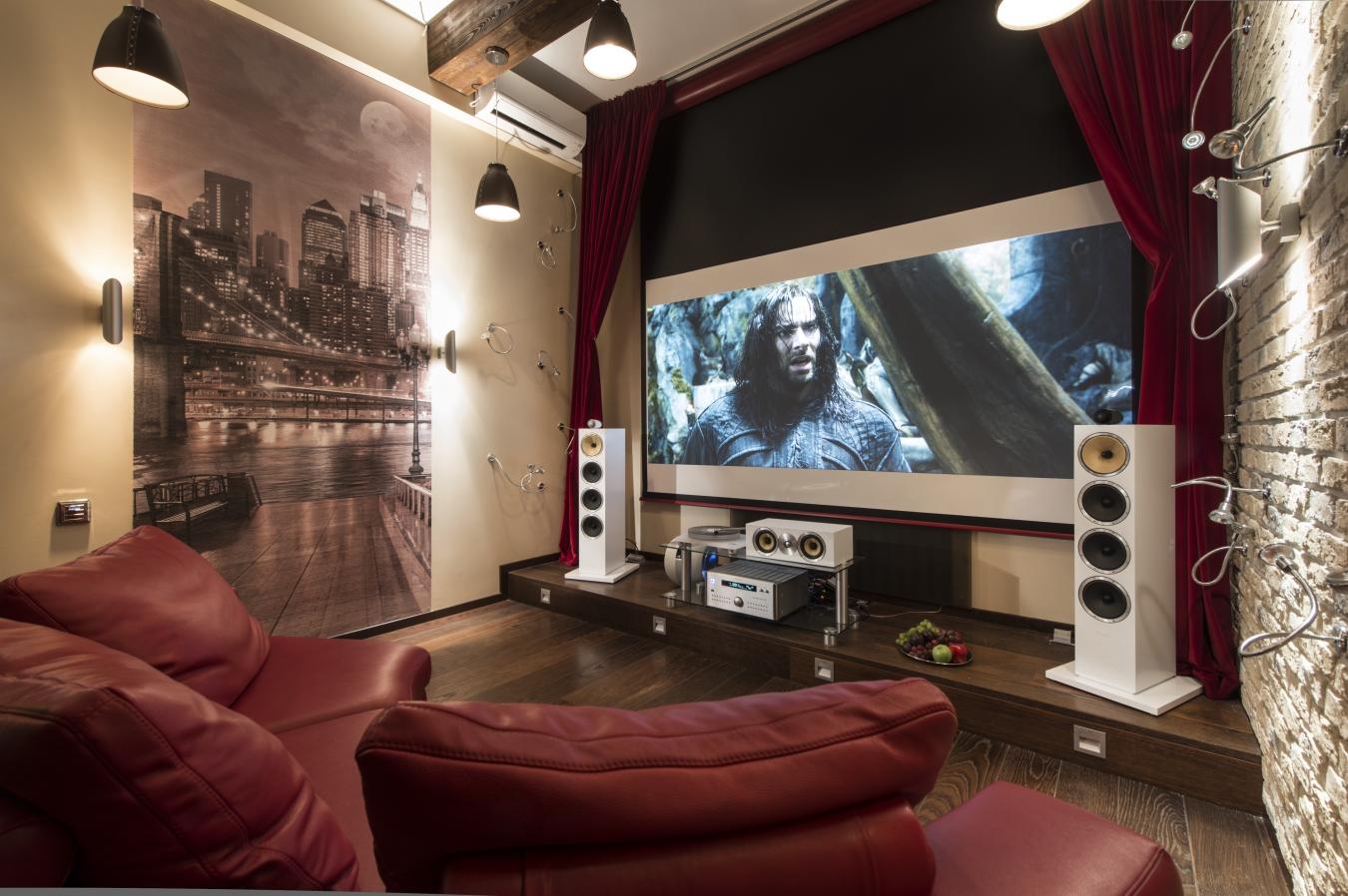 Как сделать кинотеатр в частном доме?
