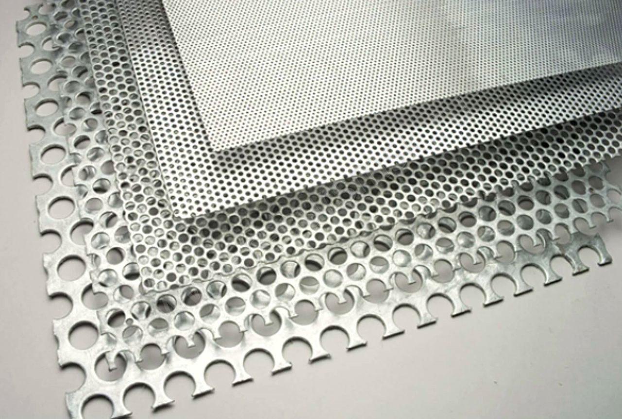 Варианты использования перфорированного металлического листа