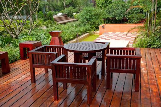 Массарандуба – идеальная древесина для строительства террас
