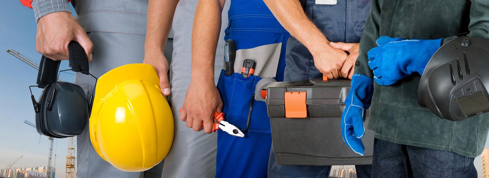 Средства индивидуальной защиты при строительстве дома