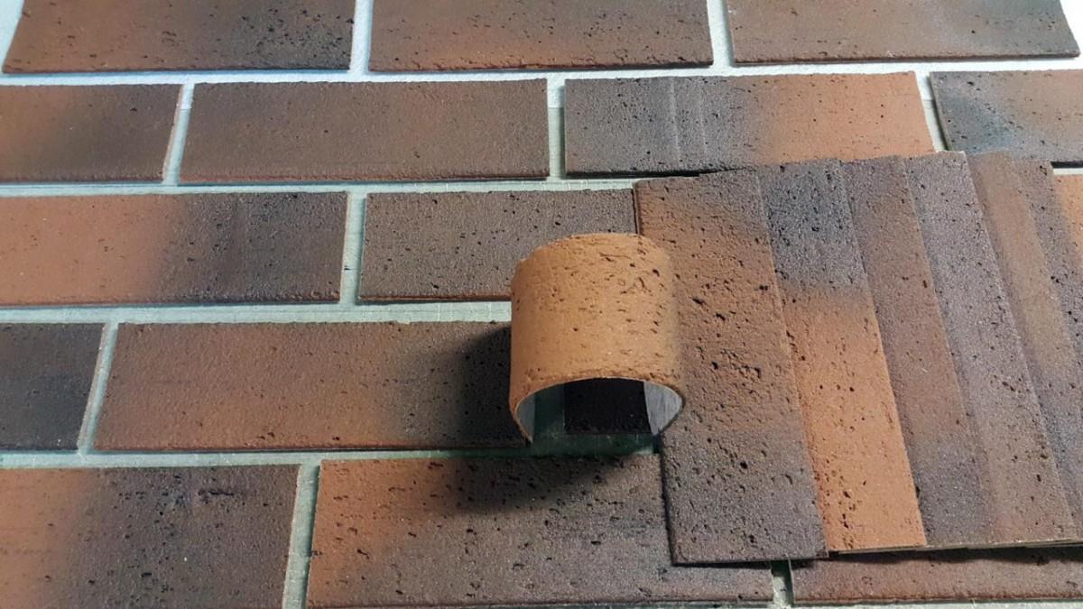Использование гибкого кирпича для фасада дома
